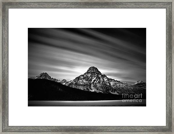 Against The Sky Framed Print