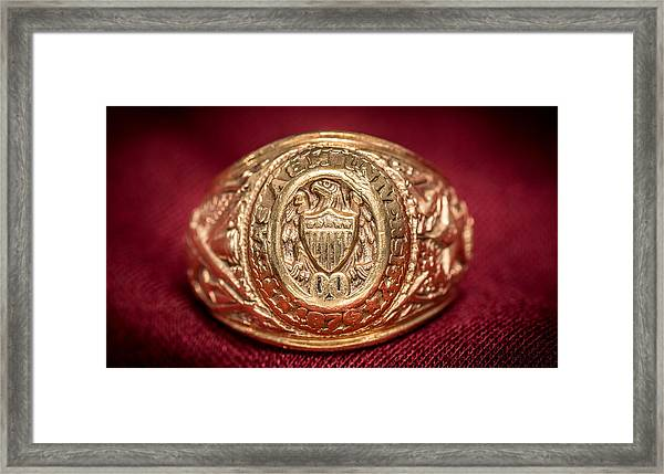 Aggie Ring Framed Print