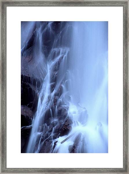 Aguasabon Falls Framed Print