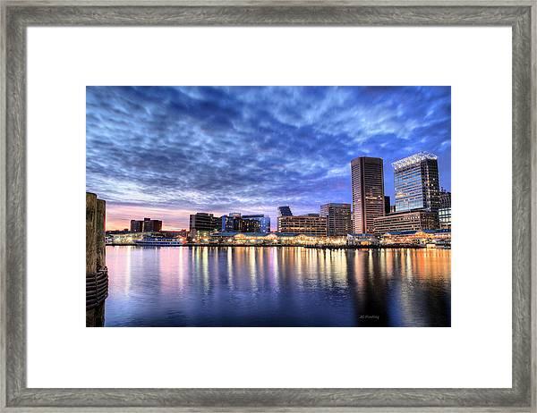 Ah Baltimore Framed Print