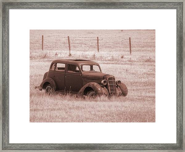 Air Conditioned Comfort Framed Print