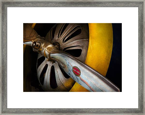 Air - Pilot - Ready For Take Off Framed Print