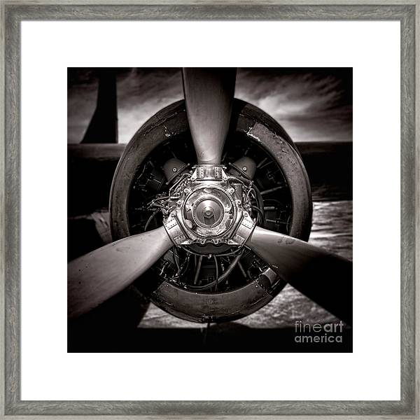 Air Power Framed Print