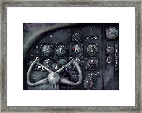 Air - The Cockpit Framed Print