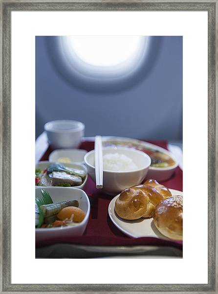 Airline Meal, Business Class Framed Print by Shui Ta Shan
