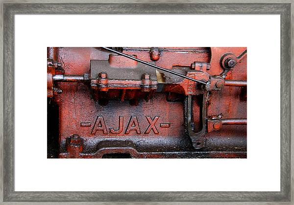 Ajax Engine Framed Print