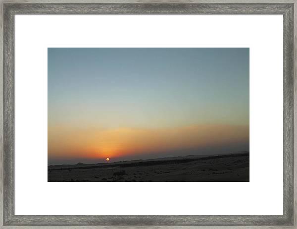 Al Ain Desert 2 Framed Print