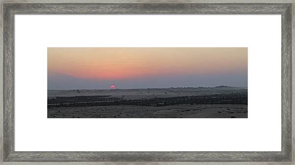 Al Ain Desert 7 Framed Print