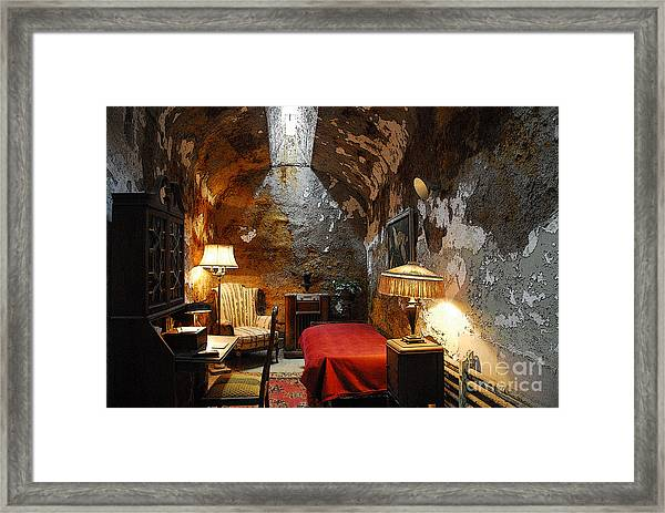 Al Capone's Cell Framed Print