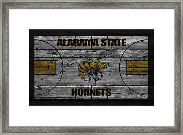 Alabama State Hornets Framed Print
