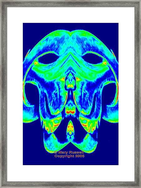 Alien  Dog Framed Print