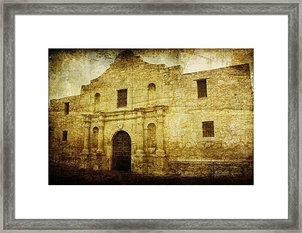 Alamo Remembered Framed Print