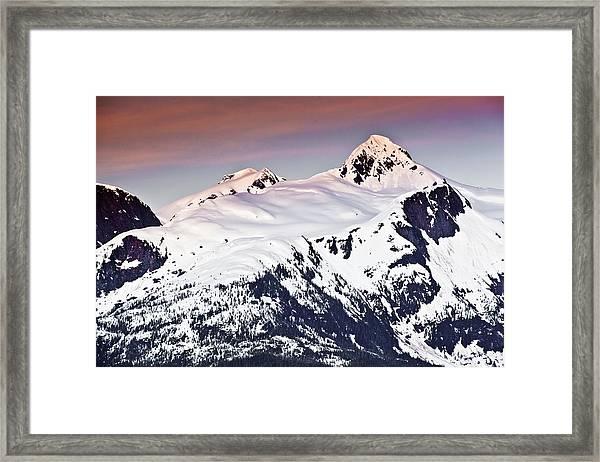 Alaska Landscape Framed Print