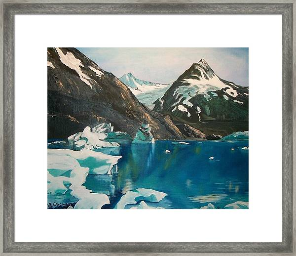 Alaska Reflections Framed Print