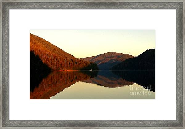 Alaskan Anchorage Framed Print