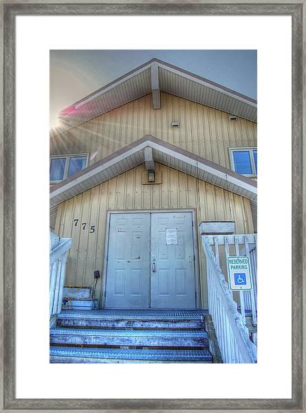 Alaskan Church Framed Print