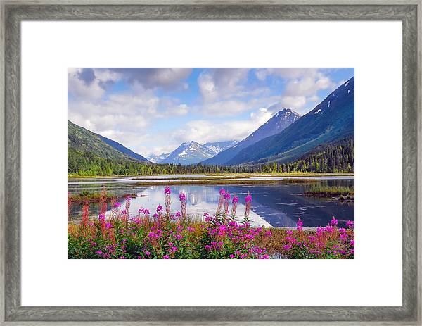 Alaskan Horizons Framed Print