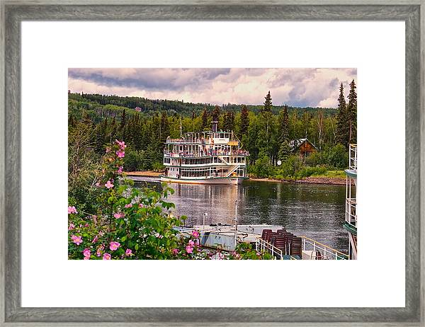 Alaskan Sternwheeler The Riverboat Discovery Framed Print