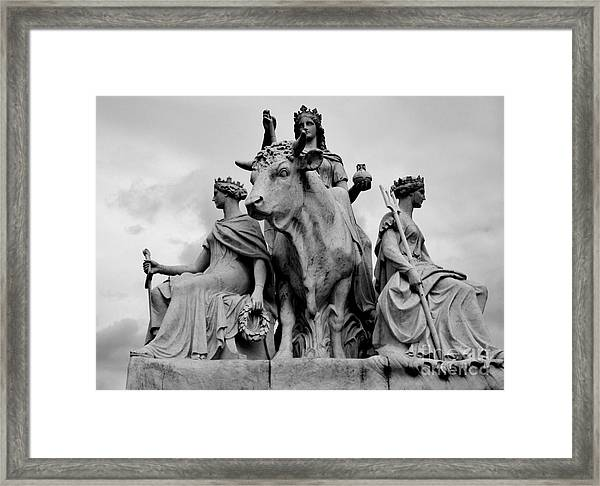 Albert Memorial Framed Print