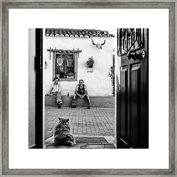 Alentejo Stories Framed Print
