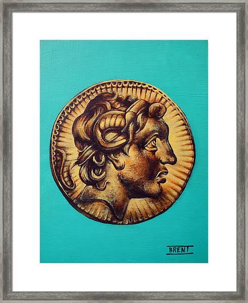 Alexander The Great Framed Print