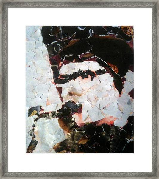 Alexander With Sax Framed Print