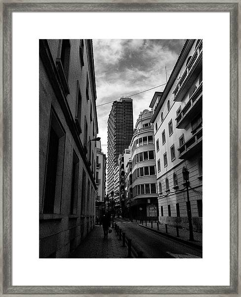 Alicante  Framed Print