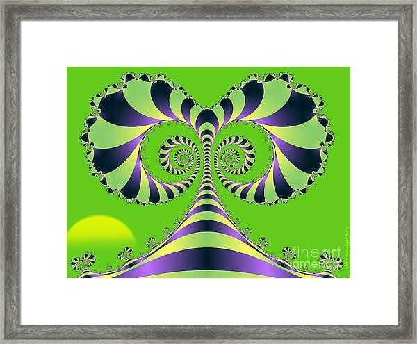 Alices Tree Framed Print by Sandra Bauser Digital Art