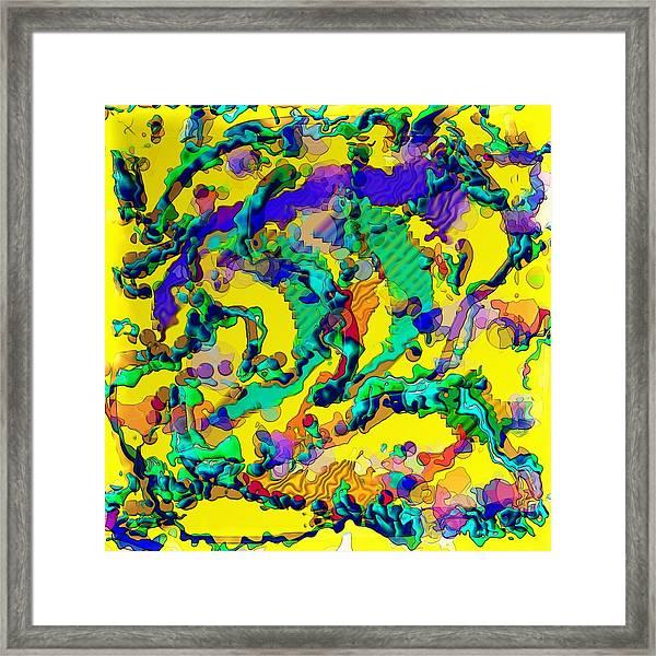 Alien Dna Framed Print