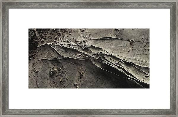 Alien Lines Framed Print
