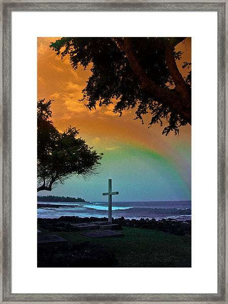 Alii Cross Framed Print