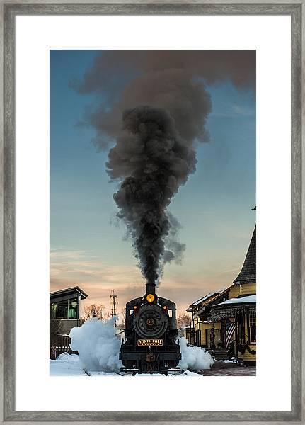 All Aboard Framed Print