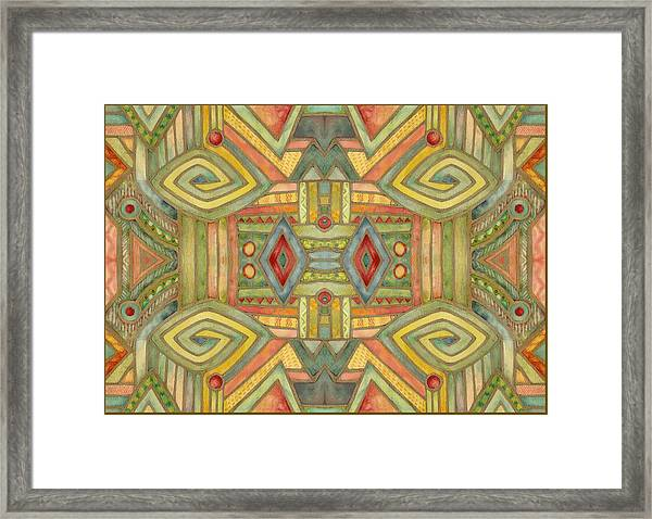 All About E Framed Print