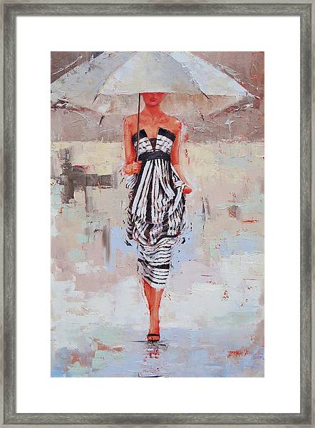 All Dressed Up Framed Print