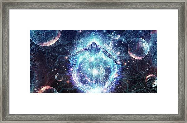 All From Nothing We Became Something Framed Print
