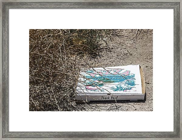 All Gone Framed Print