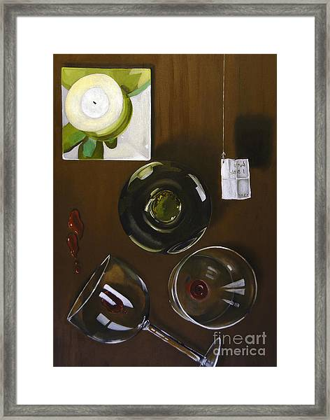 All Looked Fine From Our Perspective Framed Print