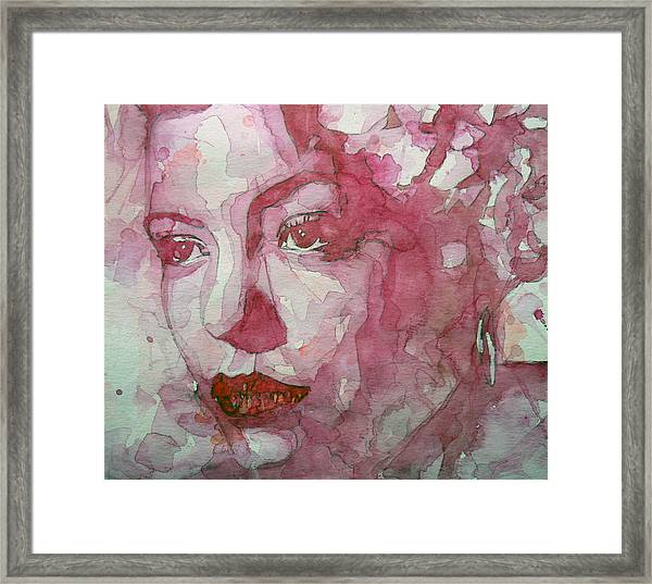 All Of Me Framed Print