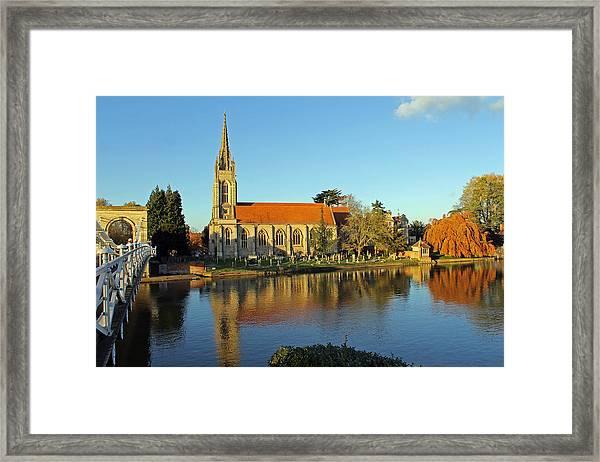 All Saints Church Marlow Framed Print