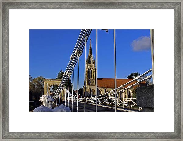 All Saints Church Framed Print