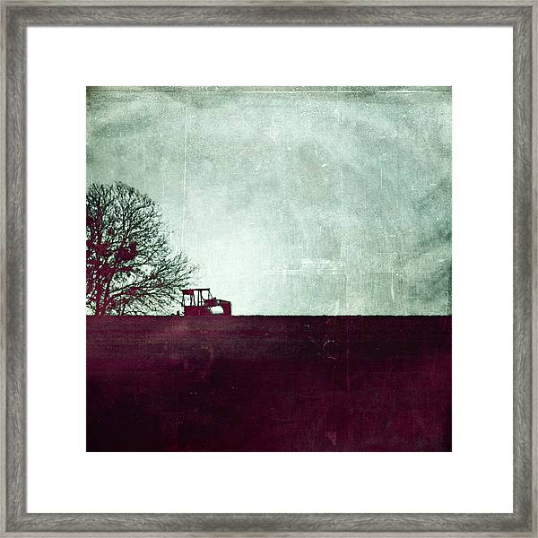All That's Left Behind Framed Print