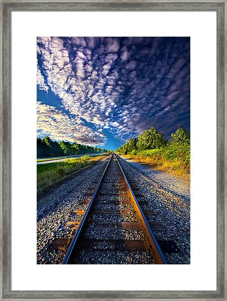 All The Way Home Framed Print