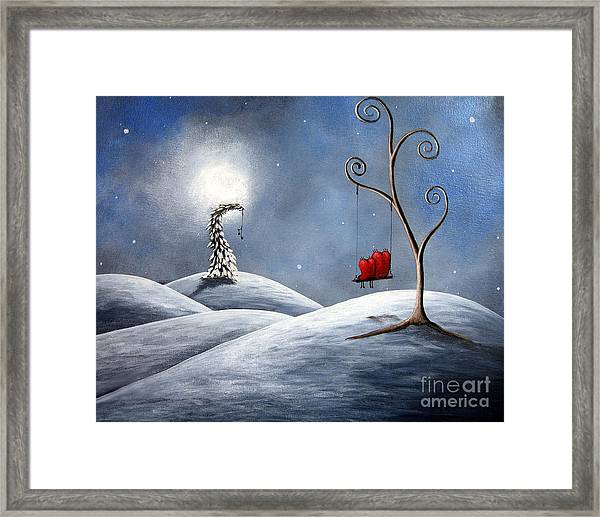 All We Need For Christmas By Shawna Erback Framed Print by Erback Art