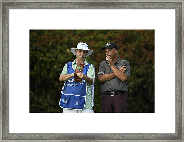 Allianz Championship - Round One Framed Print by Ryan Young