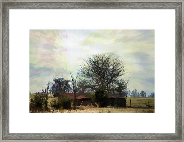 Almost Heaven Framed Print