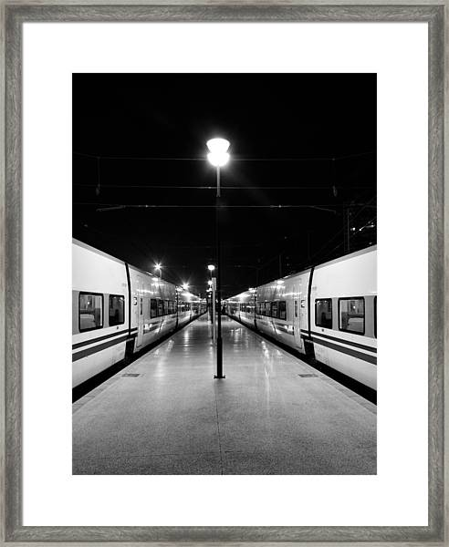 Almost Symmetry Framed Print