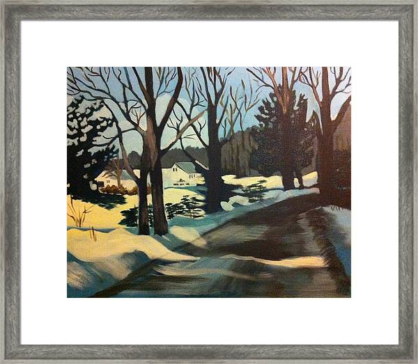 Almost There Framed Print by Jane Croteau