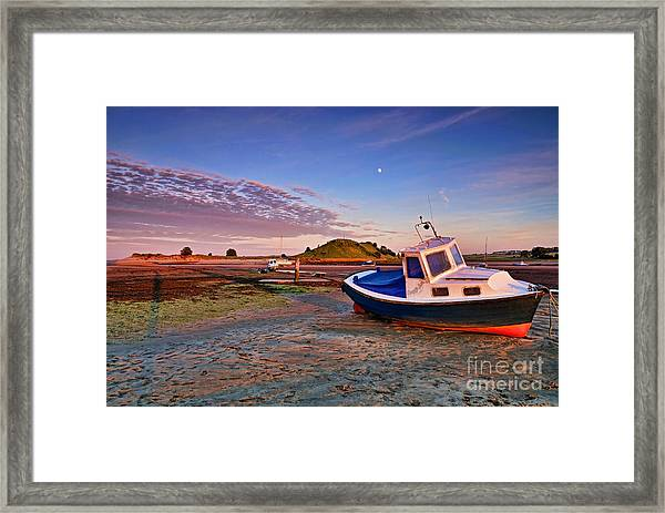 Alnmouth At Sunset Framed Print