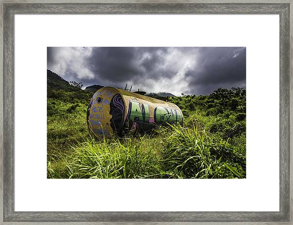 Aloha Framed Print by Luna Curran