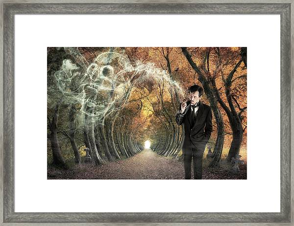 Alone Framed Print by Christophe Kiciak